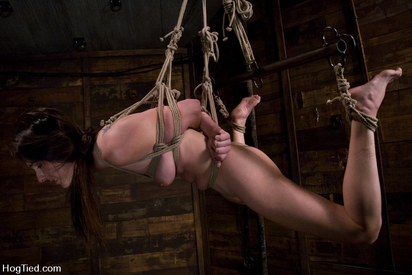 Winter Sky Gets A Hogtied Sex Experience Shell Never Forget 3