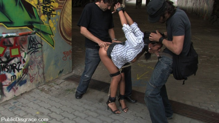 Latina Dominated And Fucked In Public 2