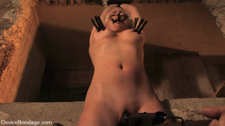 Blonde Bound And Forced To Cum 1
