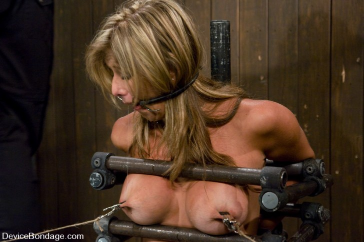 Blonde MILF In Device Bondage 1