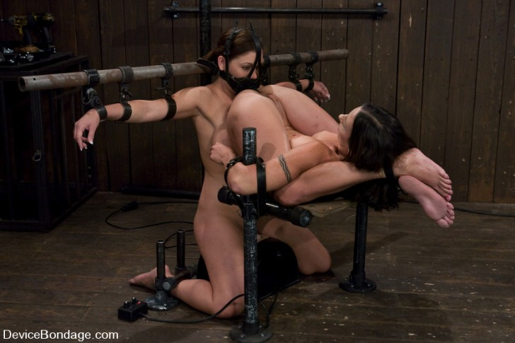 Two Girls Trapped In Device Bondage 2