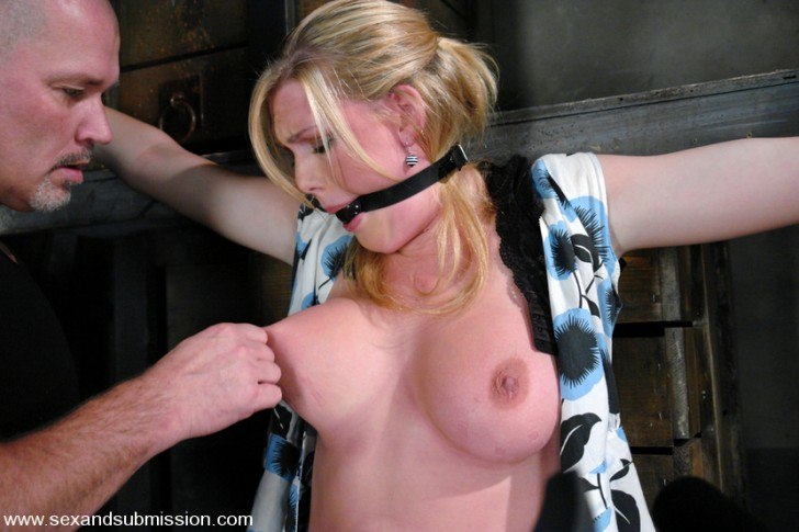 Voluptuous Blonde Dominated And Fucked 1