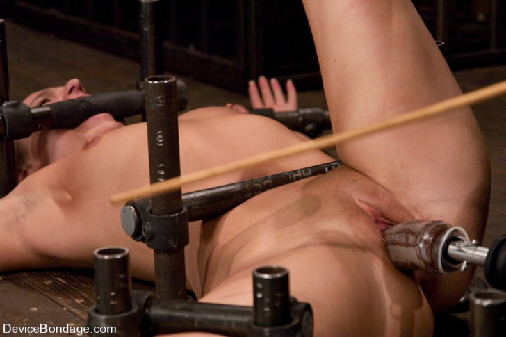 Bound Down And Fucked By A Machine 1