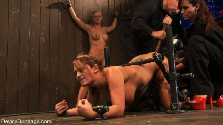 Two Blondes In Device Bondage 2