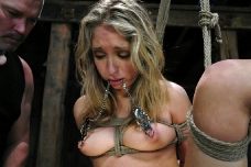 Teen Bound In Kinky Bondage