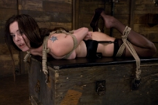 Winter Sky Gets A Hogtied Sex Experience She'll Never Forget